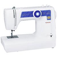 TOYOTA JB 03 - • Тип: электромеханическая • Тип челнока: качающийся  • Отключение механизма подачи ткани • Кнопка реверса • Количество швейных операций: 13